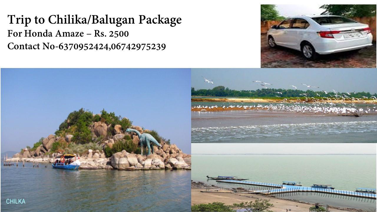 Trip to Chilika/Balugaon For Amaze