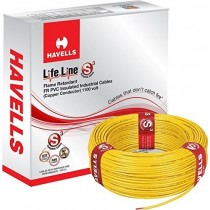Havells FR PVC, PVC 1.5 sq/mm Yellow 90 m Wire  (Yellow)