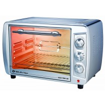 Bajaj 3500 TMCSS 35-Litre Oven Toaster Grill (Silver)