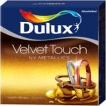 Dulux Velvet Touch Paint NY Metallics Copper 1 Litre