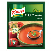 Knorr Classic Tomato Soup With 100% Real Vegetabls, No Added Preservatives, 53 gm