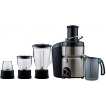 Usha 3274 700-Watt Juicer Mixer Grinder (Stainless Steel and Black)