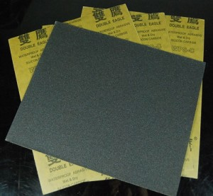 Sand Paper [Fine 150 - 180 grit]